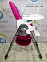 CocoLatte Cl280 Papi-Red Baby High Chair