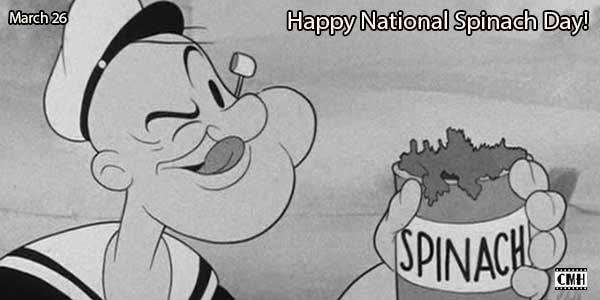 National Spinach Day Wishes Pics