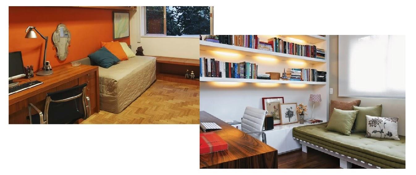 allan feio arquitetura transforme o quarto extra em home office e quarto de h spedes. Black Bedroom Furniture Sets. Home Design Ideas