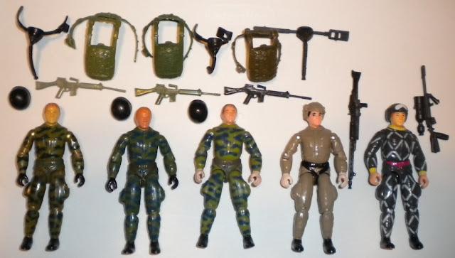 1984 Ripcord, Fuego, Plastirama, Argentina, Fumaca, Brazil, Estrela, Relampago, Python Patrol, Rare G.I. Joe Figures, Sokerk