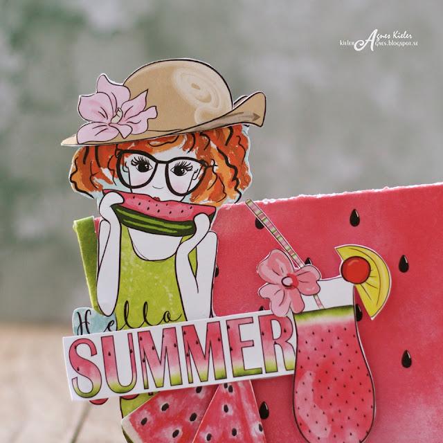 elementy do wycinania -Watermelon Friends