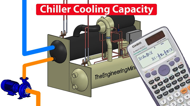 CALCULATE Chiller cooling capacity - Cooling Load kW BTU Refrigeration Ton