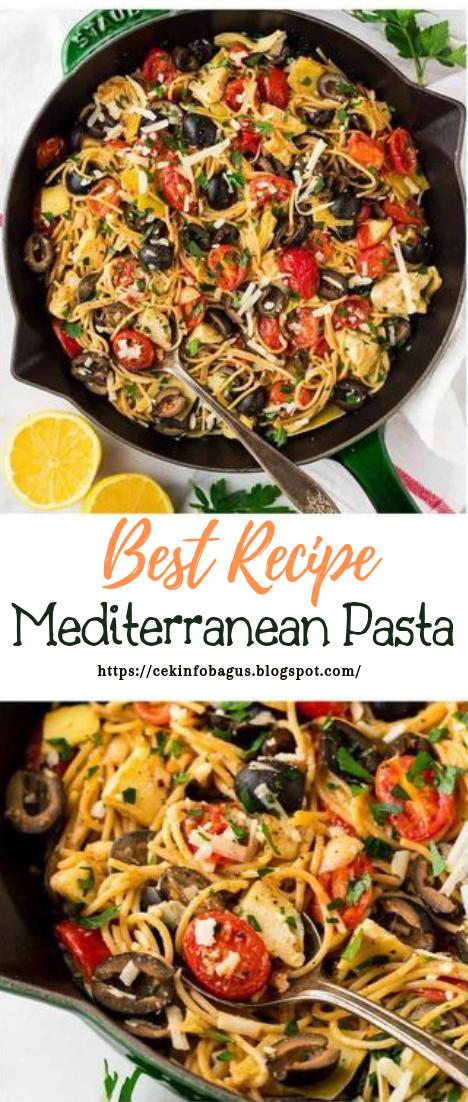 Mediterranean Pasta #healthyfood #dietketo #breakfast #food