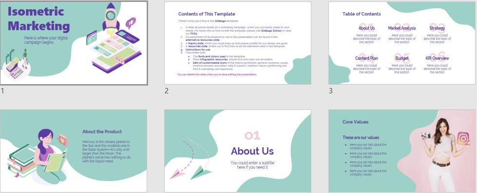 Marketing Free PowerPoint Templates