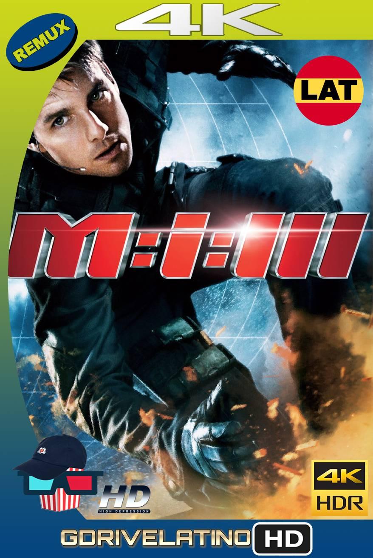 Misión Imposible 3 (2006) BDREMUX HDR Latino-Castellano-Ingles MKV