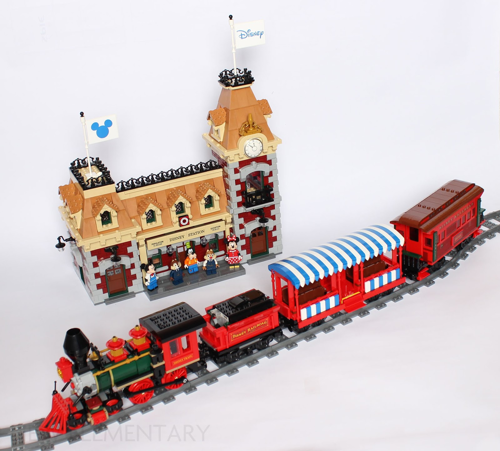 LEGO® review: 71044 Disney Train and Station | New
