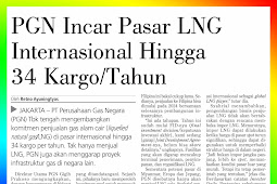 PGN Targeting the International LNG Market Up to 34 Cargoes /Year