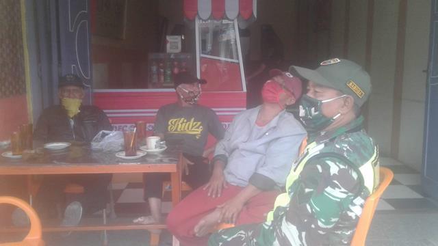 Aktif Lakukan Gakplin Dilakukan Personel Koramil 03/Siantar Selatan Jajaran Kodim 0207/Simalungun