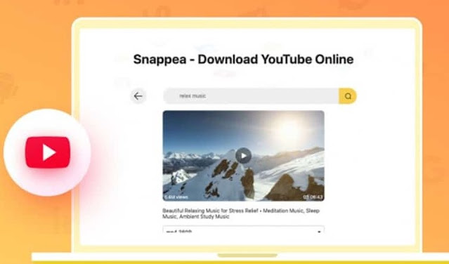 محول اليوتيوب عبر تطبيق وموقع snappea