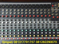 Mixer Sound System, Sewa Mikser 16 Chanel, Rental Mixer 24, 32 Line Input Mixer Audio, Kabel Snake Sound System Jakarta