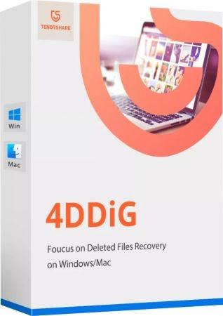 Tenorshare 4DDiG 7.9.1.2 com Crack