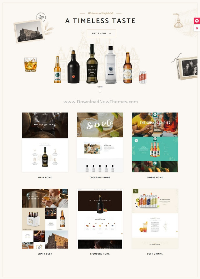 Drink Store WooCommerce WordPress Theme