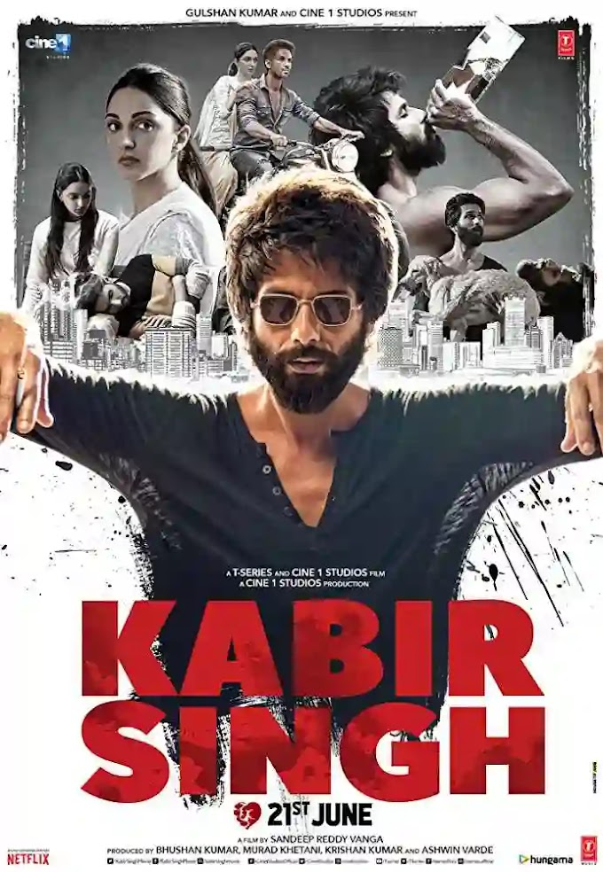 Kabir Singh Full HD Movie download 720p For Free filmywap and leaked By Tamil Rockers Shahid Kapoor Film
