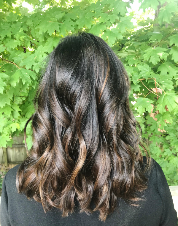 hair, beauty, beauty on a budget, short hair style, long bob, brunette hair color, north carolina blogger