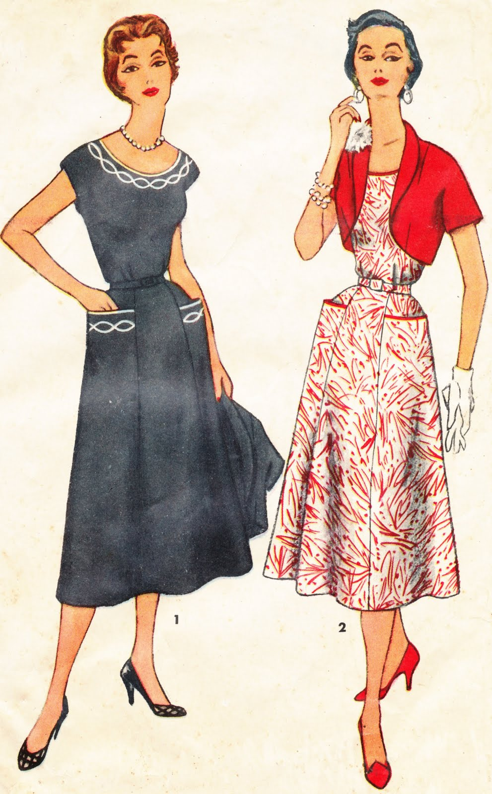 Collage Candy: Vintage Women's Fashion
