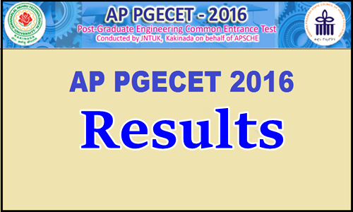 AP-PGECET-2016-Results