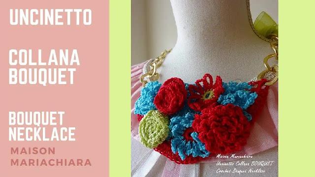 Tutorial Collar Boutique de Flores a Crochet