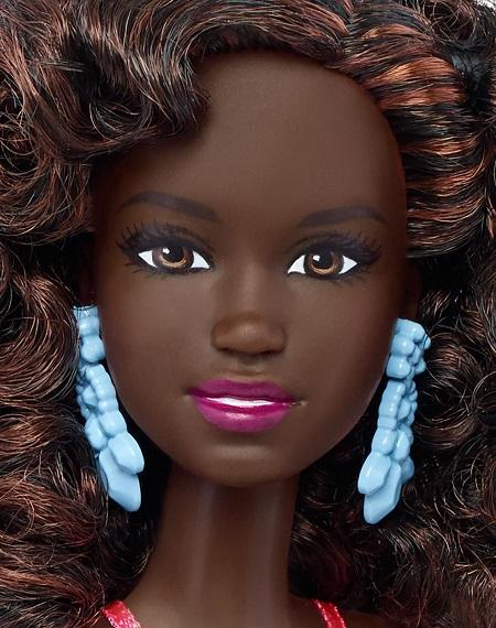 Formatos de rosto das novas Barbie Fashionistas Coleção 2016