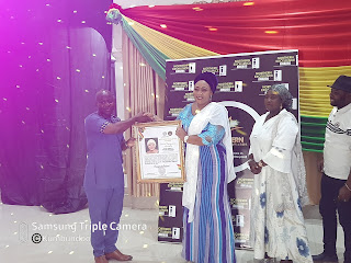 NeXA2020 : Hajia Abibata Receives Most Promising Female Politician Of The Year Award, Dedicates It To The People Of Yendi