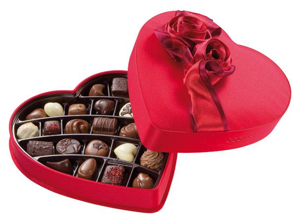 godiva valentines day heart
