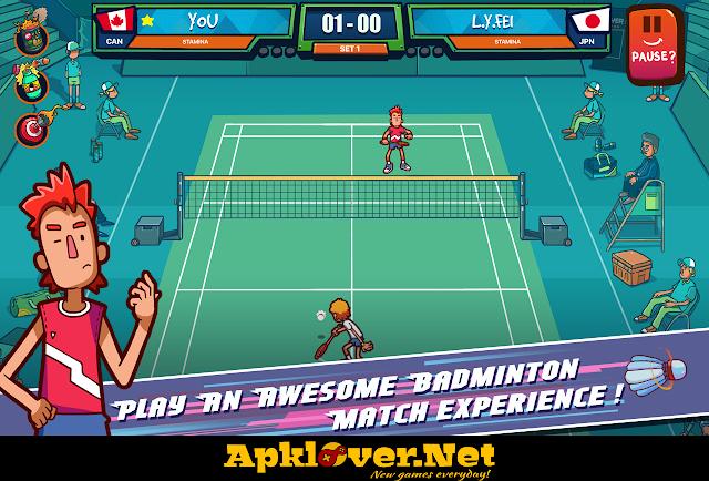 Super Stick Badminton APK MOD unlimited money