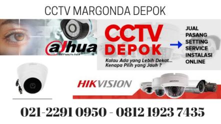 Pasang CCTV Jalan Margonda Depok