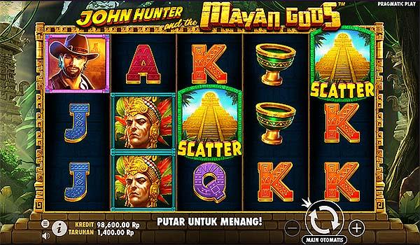 Main Slot Gratis Indonesia - John Hunter and the Mayan Gods (Pragmatic Play)