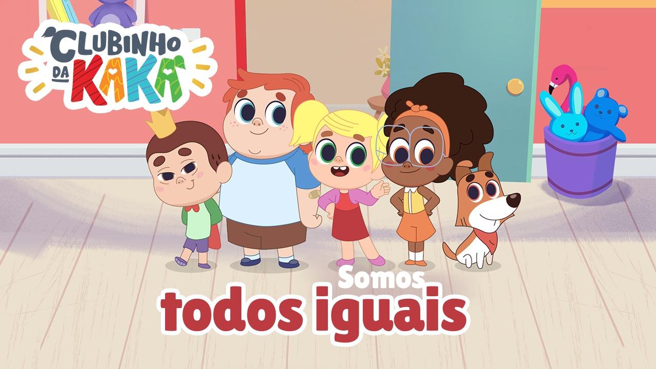 """Diversidade é o tema de episódio da série infantil """"Clubinho da Kaká"""""""