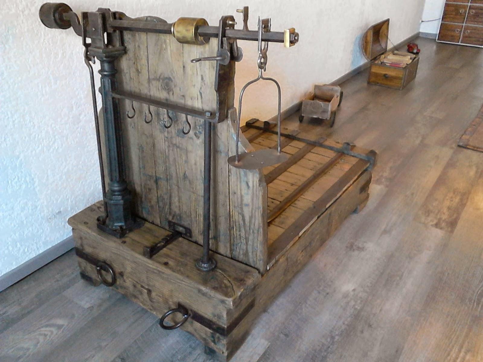 Meubles et objets de d coration style industriel balance - Balance de cuisine ancienne ...