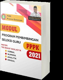 Demikianlah bahasan mengenai kumpulan soal PPPK guru - tes bakat skolastik materi analogi. Sahabat pendidik bisa mendapatkan PDF versi lengkapnya pada tautan di bawah ini. PDF ini merupakan modul yang disusun oleh PGRI Provinsi Gorontalo.