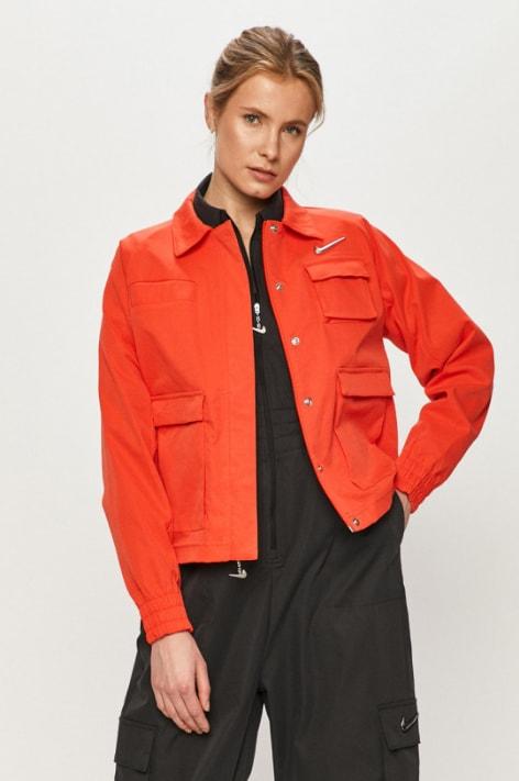 Nike Sportswear - Geaca rosie din fas pentru femei