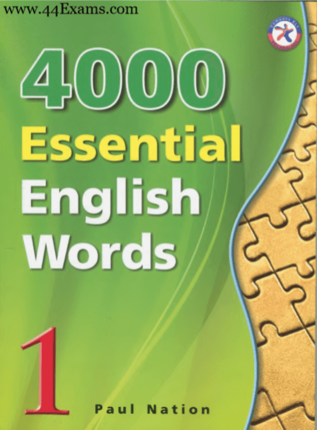 4000-Essential-English-Words-by-Paul-Nation-PDF-Book
