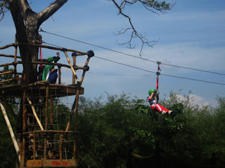 Outbound Flying Fox Lembang