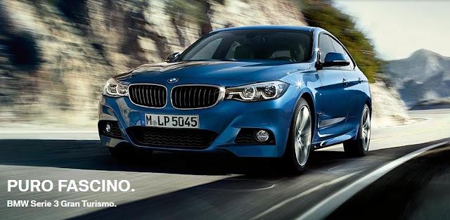 Nuova BMW Serie 3 GT 2017/2016: la Gran Turismo in versione Restyling