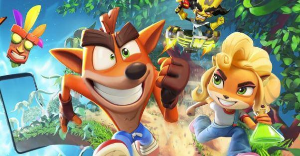 Crash Bandicoot On the Run Mod Apk Obb Download