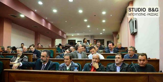 Με 22 θέματα συνεδριάζει το Δημοτικό Συμβούλιο στο Άργος