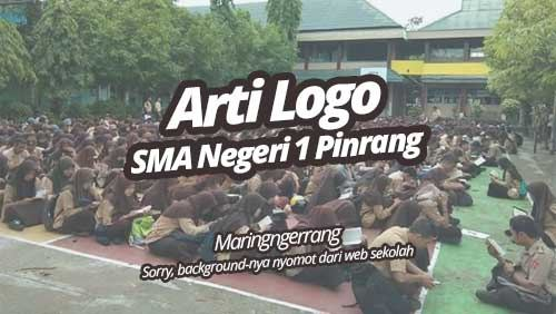 Arti Logo SMA Negeri 1 Pinrang (SMANSA PINRANG)