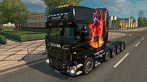 Live4music skin for Scania RJL