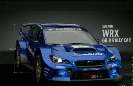 Subaru WRX GR.B Rally Car
