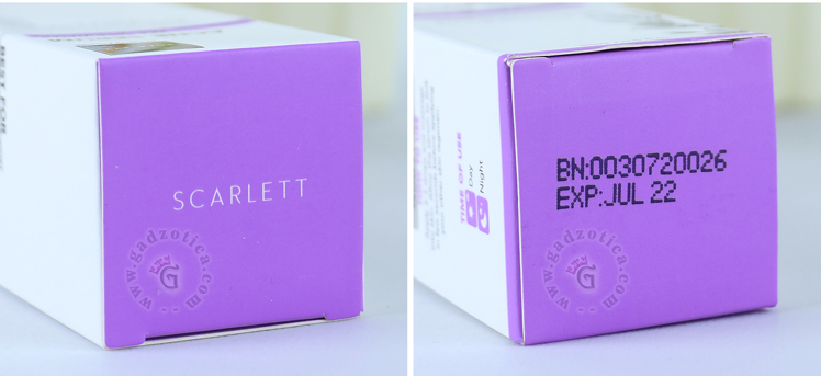 Review Scarlett Whitening Acne Serum