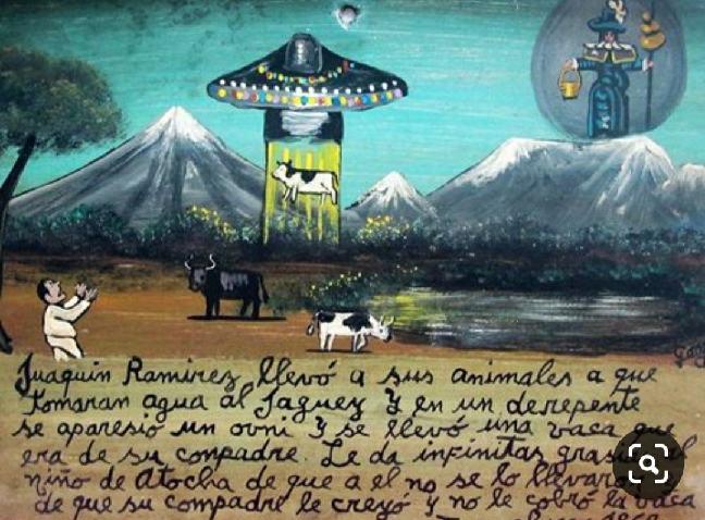 exvotos extraterrestres exvotos mexicanos