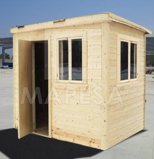 Mapesaperu casetas y m dulos prefabricados caseta de for Casetas de chapa galvanizada precios