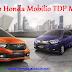 Promo Honda Mobilio TDP Minim