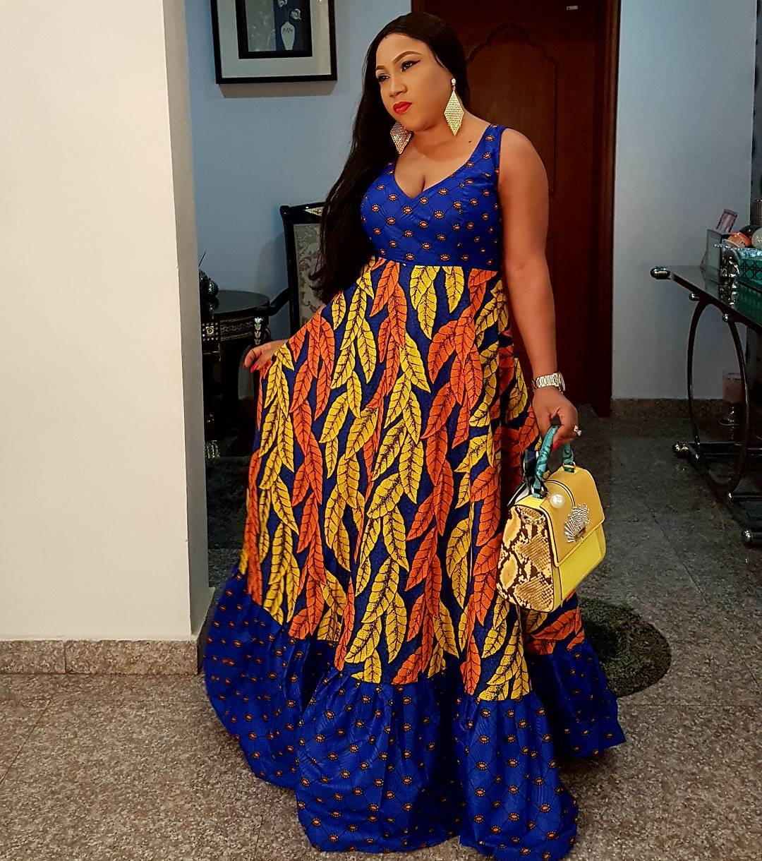 New Ankara Styles Siks Nd Tops: Latest Ankara Fashion Style 2018: Gowns, Dresses And Tops