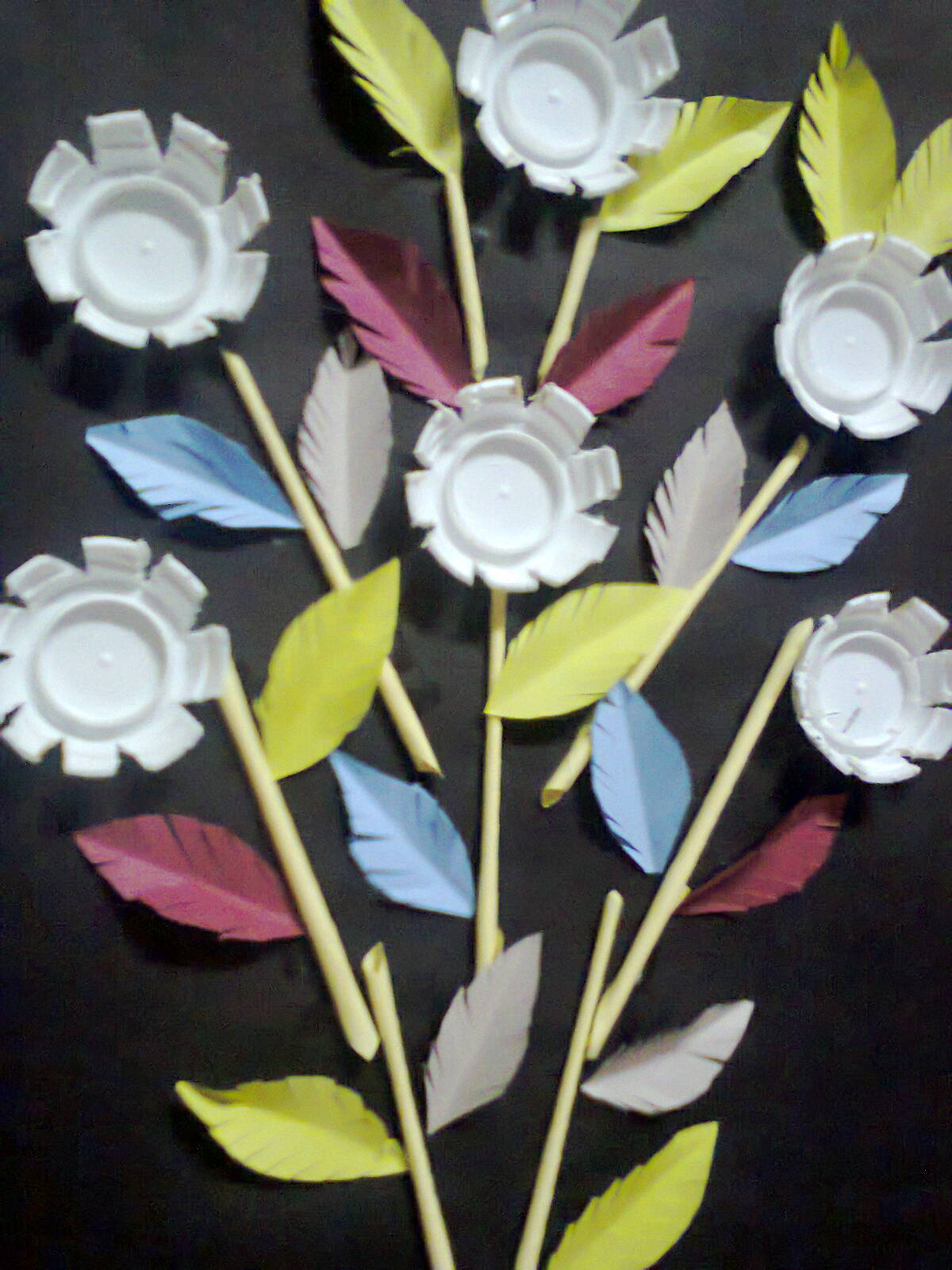Plastic Bottle Crafts Recycled Flowers