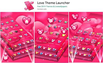 aplikasi tema love android
