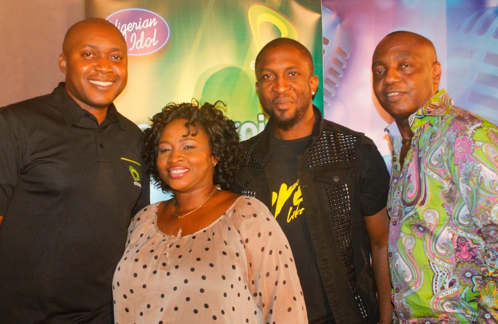 nigerian idols 2014 judges