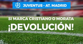 Paston promocion champions Juventus vs Atletico 26-11-2019