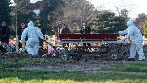 Argentina roza los 7.000 fallecidos por coronavirus