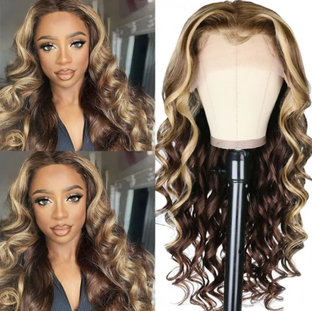 https://www.nadula.com/nadula-perfect-ash-blonde-highlight-human-hair-wig-with-baby-hair-upgraded-bouncy-body-wave-brown-hair-wig.html